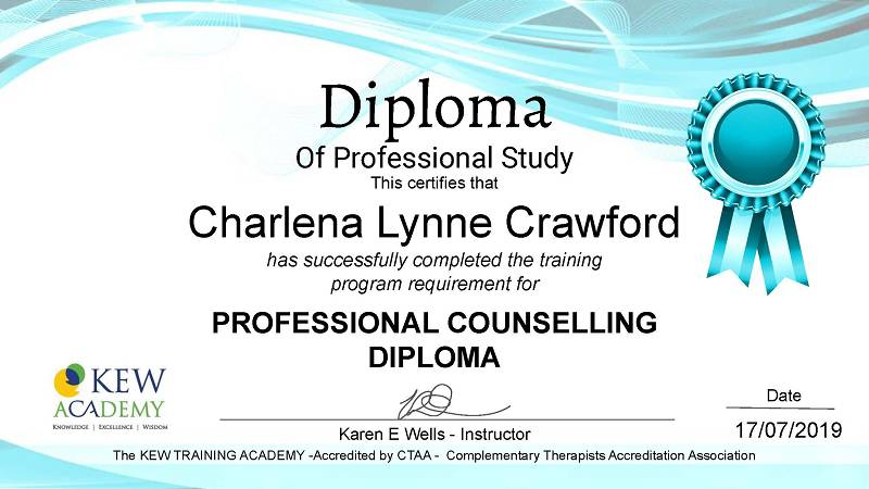 Professional Counselling Diploma