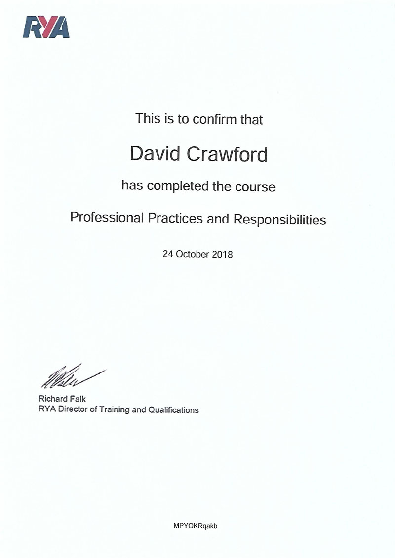 Professional Practices and Responsibilities